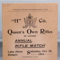 Image of Annual Rifle Match 1894
