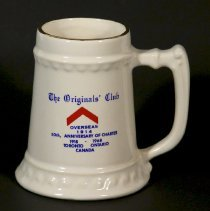 Image of The Originals' Club Ceramic Stein Overseas 1914