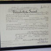 Image of Honourary Appointment of H.C. MacKendrick - 1962/12/04