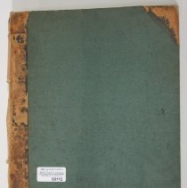 Image of Scrapbook of Newspaper Clippings from the Fenian Raids - Scrapbook