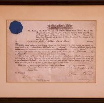 Image of Certificate - William Durie