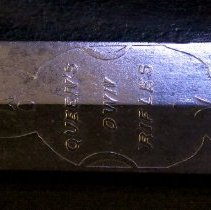 Image of Bugler Sword - Inscription