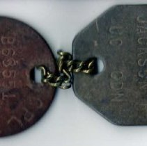 Image of Dog Tags, Jackson