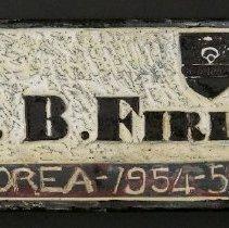 Image of Firlotte Plaque