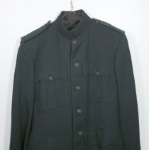 Image of Officers Green Patrol Jacket and Trousers -