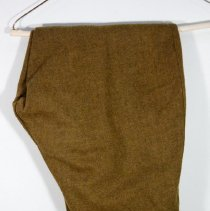 Image of Wool Khaki breeches -