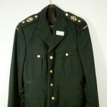 Image of Col. Pitt's CF Green Uniform -