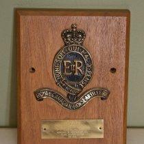 Image of RCHA Shield Plaque - 1968/  /02