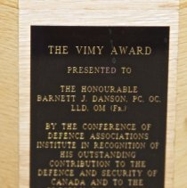 Image of Trophy Plaque