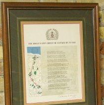 Image of Framed Poem