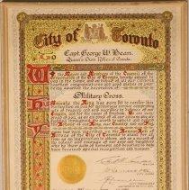 Image of City of Toronto Citation: George W. Bean - 1946/06/29