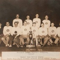 Image of Garrison Indoor Baseball Championships 1946-47 -