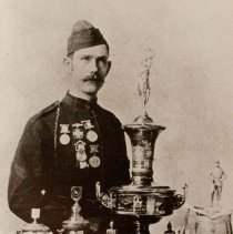 """Image of Corporal Thomas Westman """"A"""" Company Queen's Own Rifles of Canada, Winner of the Pellatt Cup 1890-1893 - 1980/01/01"""
