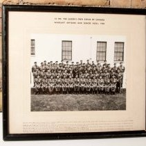 Image of Warrent Officers and Senior NCO's 1956