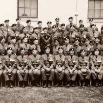 Image of 1st BN The Queen's Own Rifles of Canada Warrant Officers and Senior NCO's 1956 -
