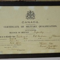 Image of 04160 - Certificate
