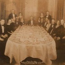 "Image of ""Dance Committee"" Sergeants of the Queen's Own Rifles of Canada, King Edward Hotel Dec. 1st, 1933 - 1933/12/01"