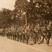 Image of B Coy 2nd Batt. Queen's Own Rifles of Canada 1933 -