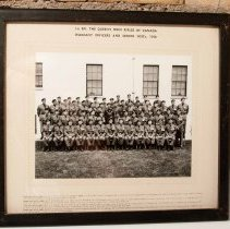 Image of Warrent Officers and NCO's 1956