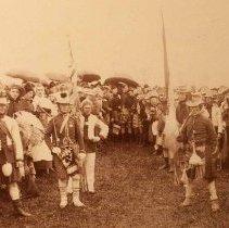 Image of QOR Cooks Parade (Owen Sound) -