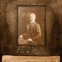 Image of Pte. Blight, Died April 15th, 1900 - 1900/04/15