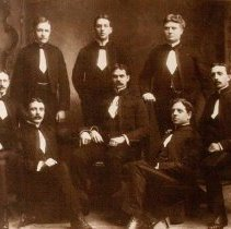 Image of Committee of Sergeant's Mess Queen's Own Rifles of Canada, 1902 -