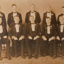 Image of Officers of the Sergeants Mess the Queen's Own Rifles of Canada 1934 -