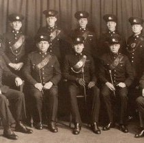 Image of Officers of the Sergeants' Mess, The Queen's Own Rifles of Canada 1933 - 1933/  /