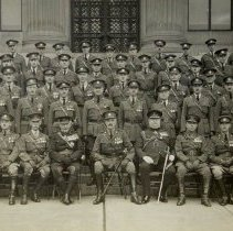 Image of Officers, Queen's Own Rifles of Canada Toronto, November 1923 -