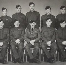 Image of Officers of the Sergeants' Mess, The Queen's Own Rifles of Canada -