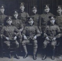 Image of Officers of the QOR Sergeants Mess 1914 -