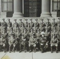 Image of Officers, The Queen's Own Rifles of Canada Toronto 1928 -