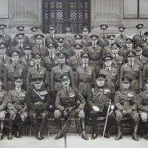 Image of Officers, Queen's Own Rifles of Canada - 1923/11/