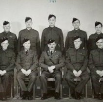 Image of Officers of the Sergeant's Mess 2nd (RES) Bn The Queen's Own Rifles of Canada, C.A. 1943 -