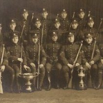 Image of Buglers' Rifle Team 1913 Queen's Own Rifles of Canada -