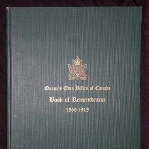 Image of Book of Remembrance 1866-1918