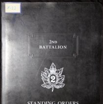 Image of 2nd Battalion Standing Orders