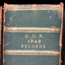 Image of QOR 1940 Records - Book, Record