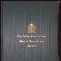 Image of QOR Book of Remembrance