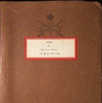 Image of Diary of Rfn J.A. Forin No 3 Coy QOR