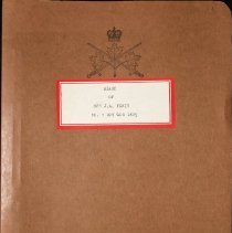 Image of Diary of Rfn J.A. Forin No 3 Coy QOR