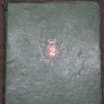 Image of The Queen's Own Rifles of Canada Association 1934 - 00319.13