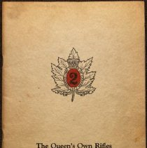 Image of The Queen's Own Rifles of Canada Association 1947 - 1947/  /