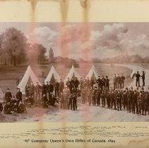 Image of B Company, QOR 1894
