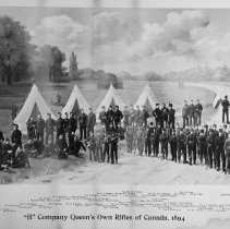 Image of B Company, Queen's Own Rifles 1904