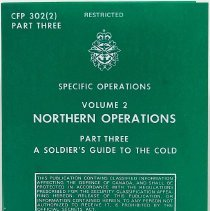Image of Specific Operations Volume 2 Northern Operations Part Three A Soldiers Guide to the Cold - 02370