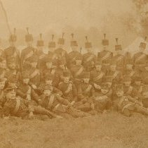 Image of Officers & NCOs - Queen's Own Rifles - 1903 -