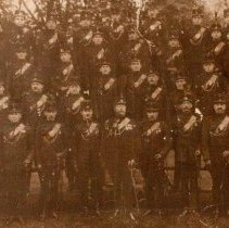 Image of Officers The Queen's Own Rifles of Canada - 1910/06/24