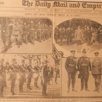 Image of Queen's Own Holds Memorial Service at St. Pauls - 1928/10/08