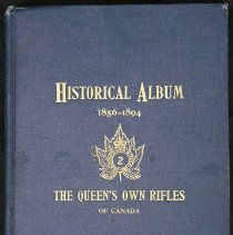 Image of Historical Album of QOR 1856-1894 -